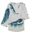 Tags Weekly Womens Floral Pullover Blouse