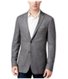 Tallia Mens Herringbone Two Button Blazer Jacket