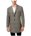 Tallia Mens Plaid Three Button Blazer Jacket