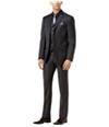 Tallia Mens Sharkskin Two Button Formal Suit