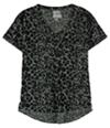 Vans Womens Jungle Skull V-Neck Graphic T-Shirt