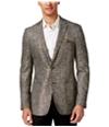 Tallia Mens Metallic Two Button Blazer Jacket