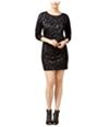 Guess Womens Sumie Crochet-Lace Shift Dress