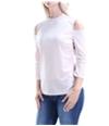 Guess Womens Velvet Pullover Blouse