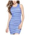 Guess Womens Striped Bodycon Dress