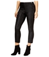 Guess Womens Mariette Embossed-Front Casual Cropped Pants