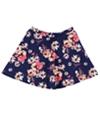 Bee Darlin Womens Printed Flared Skirt