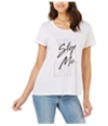 Carbon Copy Womens Logo Graphic T-Shirt