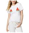 Carbon Copy Womens Watermelon Graphic T-Shirt