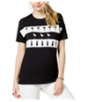 Carbon Copy Womens Flamingo Pineapple Palm Graphic T-Shirt