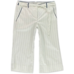 BCBG Womens Amanda Crop Casual Trousers