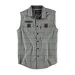 Ecko Unltd. Mens Man Of War Woven Button Up Shirt