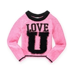Justice Girls 2 Cute Knit Sweater