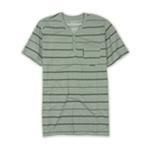 Ecko Unltd. Mens Fireworks Y-neck Striped Henley Shirt