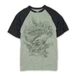 Ecko Unltd. Mens Eagle Wings Raglan Henley Shirt