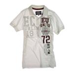 Ecko Unltd. Mens Ss Numeral Rugby Polo Shirt