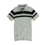 Ecko Unltd. Mens Combo Strip Ss Knit Rugby Polo Shirt