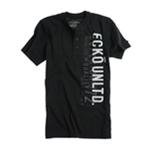 Ecko Unltd. Mens Ss Vertical Henley Shirt