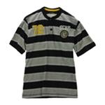 Ecko Unltd. Mens Rugby Stripe #72 Henley Shirt