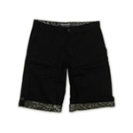 Ecko Unltd. Mens Cheats Ctn Twill Animal Print Casual Bermuda Shorts