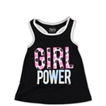 Justice Girls Power Racerback Tank Top