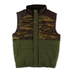 Ecko Unltd. Mens Camo Pieced Military Vest