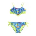 Justice Girls Fish Flounce 2 Piece Bikini