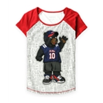 Justice Girls Ole Miss Spirit Graphic T-Shirt