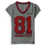 Justice Girls University Of Connecticut Graphic T-Shirt