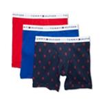 Tommy Hilfiger Mens 3-Pack Underwear Boxer Briefs