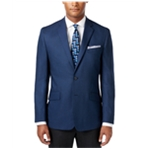 Kenneth Cole Mens Houndstooth Two Button Blazer Jacket
