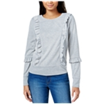 maison Jules Womens Metallic Sweatshirt