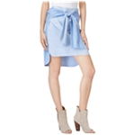 bar III Womens Striped High-Low Skirt