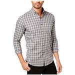 Club Room Mens Tartan Button Up Shirt