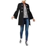 I-N-C Womens Ponte-Knit Coat