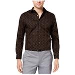 bar III Mens Umax Print Button Up Dress Shirt
