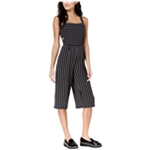 maison Jules Womens Cutout Cropped Jumpsuit