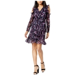 maison Jules Womens Ruffled A-line Dress