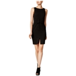 bar III Womens Solid Bodycon Dress