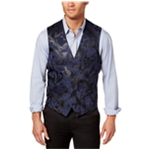 I-N-C Mens Faux Suede Five Button Vest