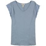 Style & Co. Womens Heathered Basic T-Shirt