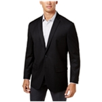 I-N-C Mens Basic Two Button Blazer Jacket