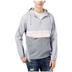 American Rag Mens Quarter-Zip Hooded Hoodie Sweatshirt