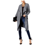 I-N-C Womens Duster Cardigan Sweater