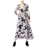 bar III Womens Printed A-line,Wrap