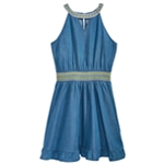 Epic Threads Girls Embroidered Shift Dress