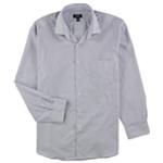 Alfani Mens Check Button Up Dress Shirt