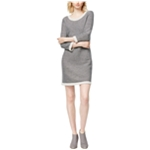 maison Jules Womens Knit Sweater Dress