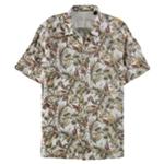 Tasso Elba Mens Ketema Button Up Shirt