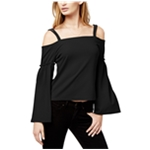 bar III Womens Textured Off the Shoulder Blouse